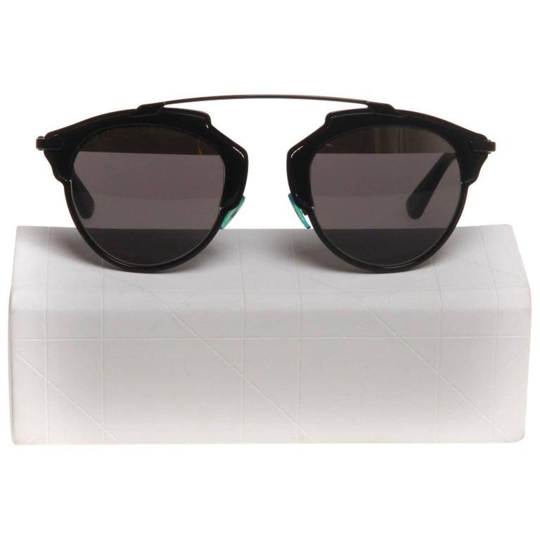 c95b026e8a018 Christian Dior So Real Sunglasses at 1stdibs
