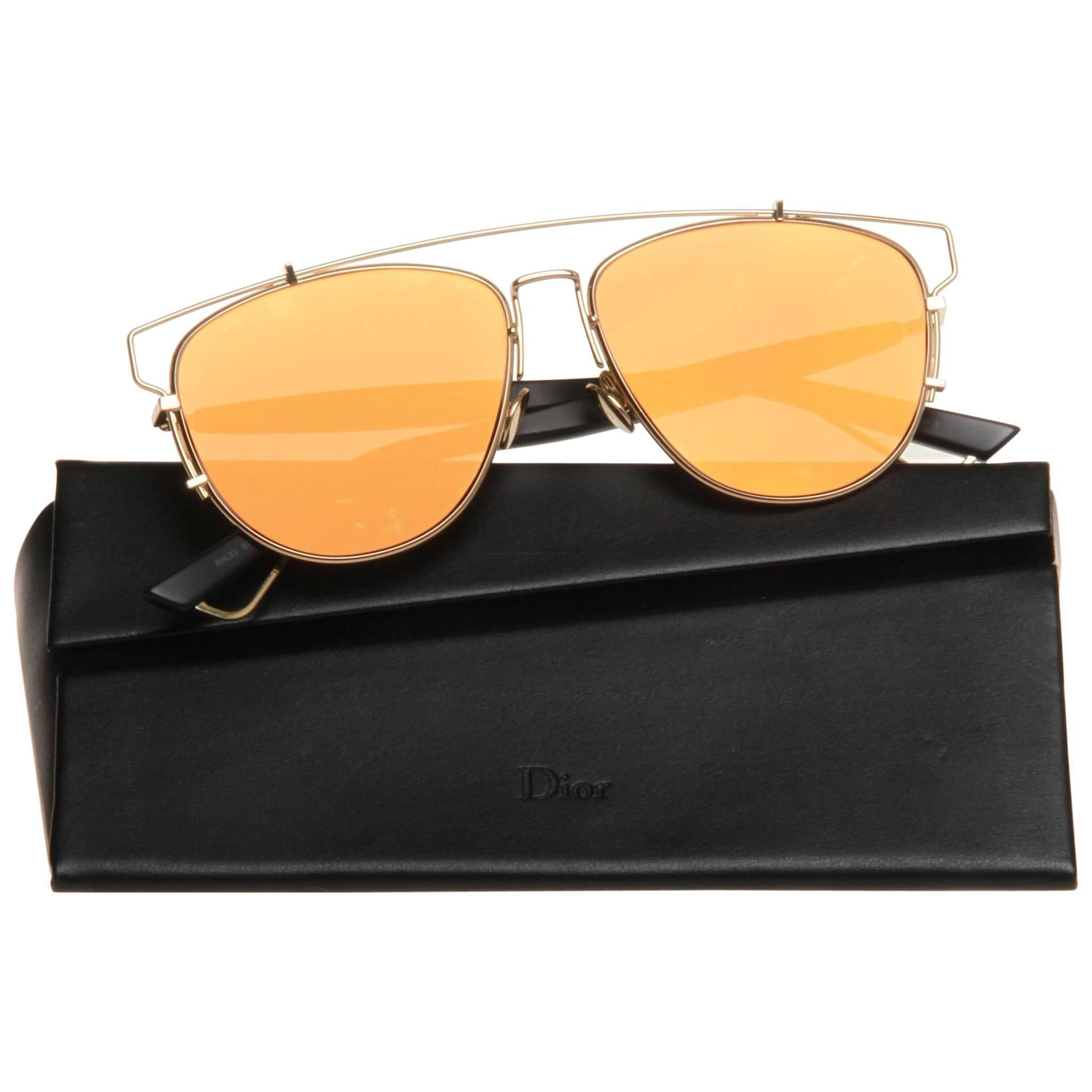 6a84cbd429af Christian Dior Technologic Aviator Sunglasses at 1stdibs