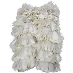 Feather ball jacket by Sonia Rykiel