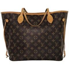 Louis Vuitton Monogram Neverfull MM with Cherry Interior Tote Handbag