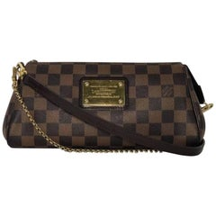 Louis Vuitton Damier Ebene Eva Crossbody Handbag