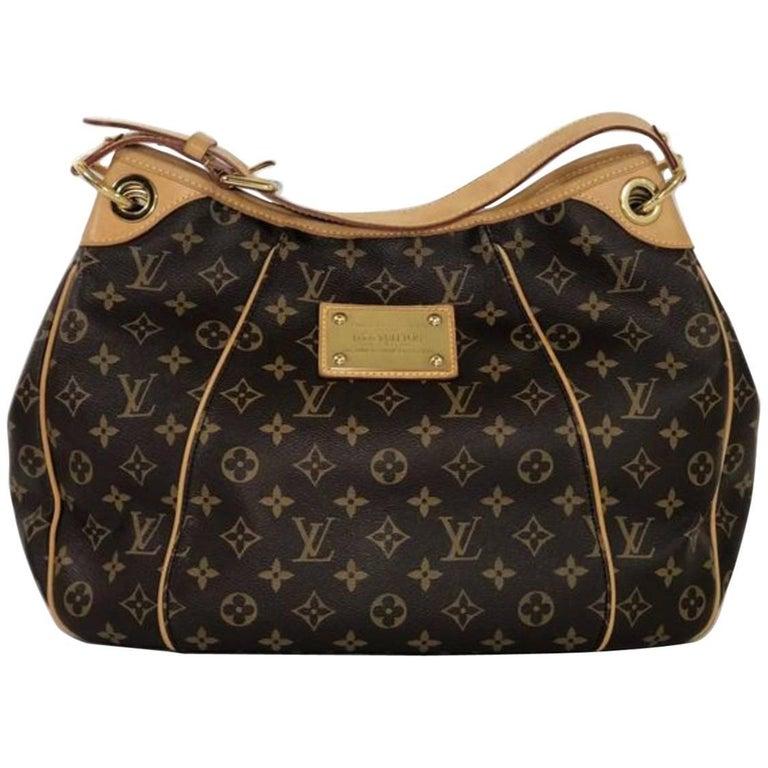 Louis Vuitton Monogram Galliera PM Hobo Handbag