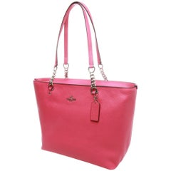 COACH Sophia Small Pebble Shopping Tote
