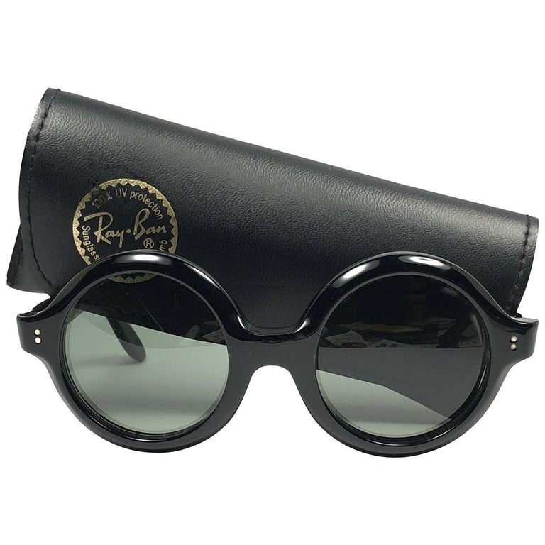 5d8d82a8ad New Vintage Ray Ban Pasha 1960 s Mid Century G15 Lens USA B L Sunglasses  For Sale