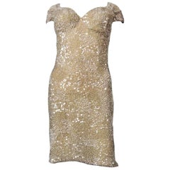Christian Dior John Galliano Couture sequin Dress - Circa 2000