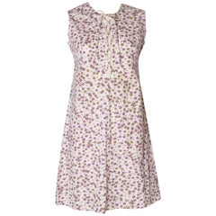 A Vintage 1960s floral print cotton day dress by Peter Robinson