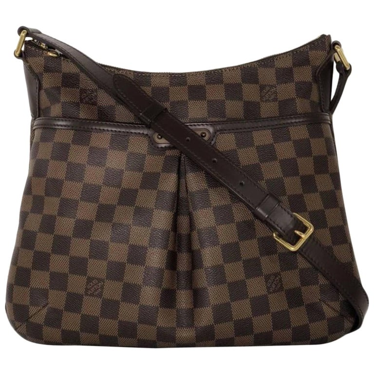 Louis Vuitton Damier Ebene Bloomsbury PM Crossbody Handbag