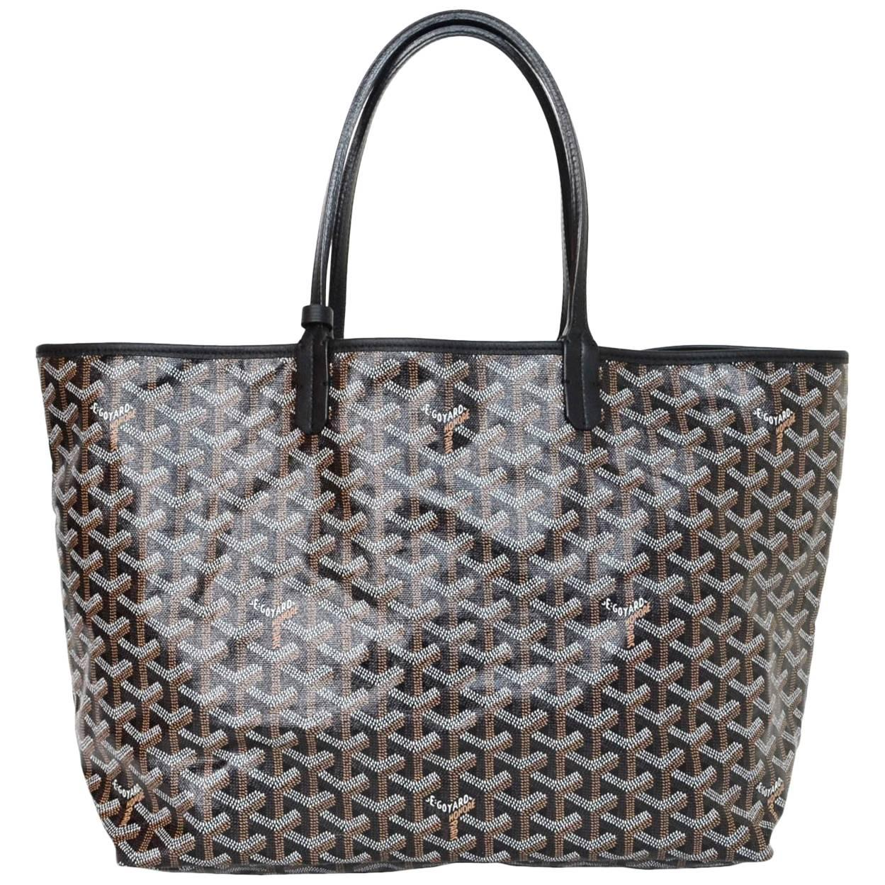 1stdibs Goyard Red And Bordeaux Saint Louis Jr. Tote Bag FYN23Jx7