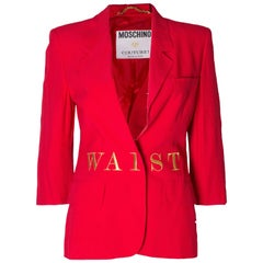 Vintage Moschino Couture Jacket