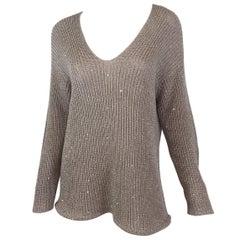 Brunello Cucinelli Boatneck Knit Sweater