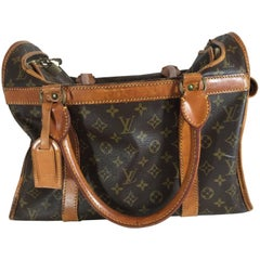 Louis Vuitton Dog Carrier Monogram Canvas 40