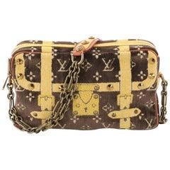 Louis Vuitton Trompe L'Oeil Trocadero Handbag Monogram Velvet 27