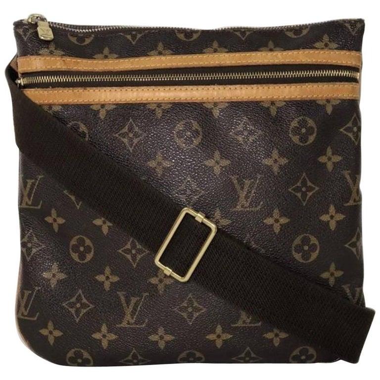 Louis Vuitton Monogram Pochette Bosphore Crossbody Shoulder Handbag