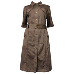 Brown Day Dresses