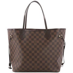 Louis Vuitton Neverfull NM Tote Damier MM