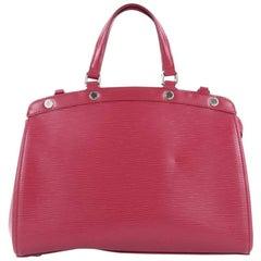 Louis Vuitton Brea Epi Leather MM Handbag