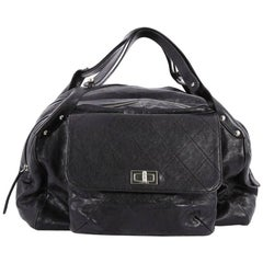 Chanel Pocket in the City Travel Bag Caviar Large