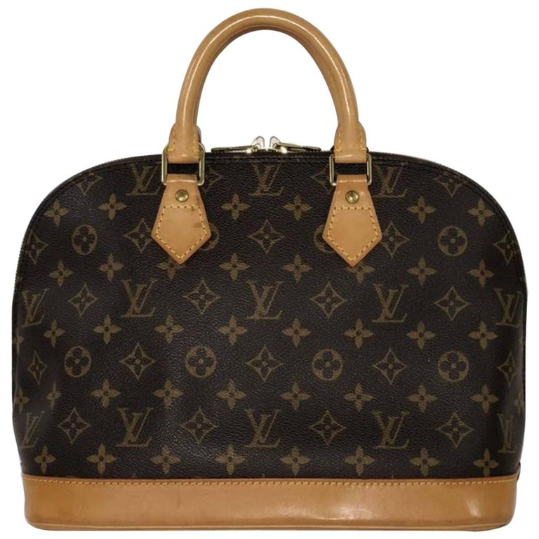Louis Vuitton Monogram Alma PM Satchel Handbag