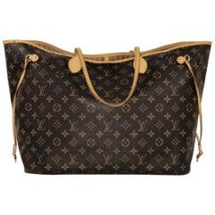Louis Vuitton Monogram Neverfull GM Tote Handbag