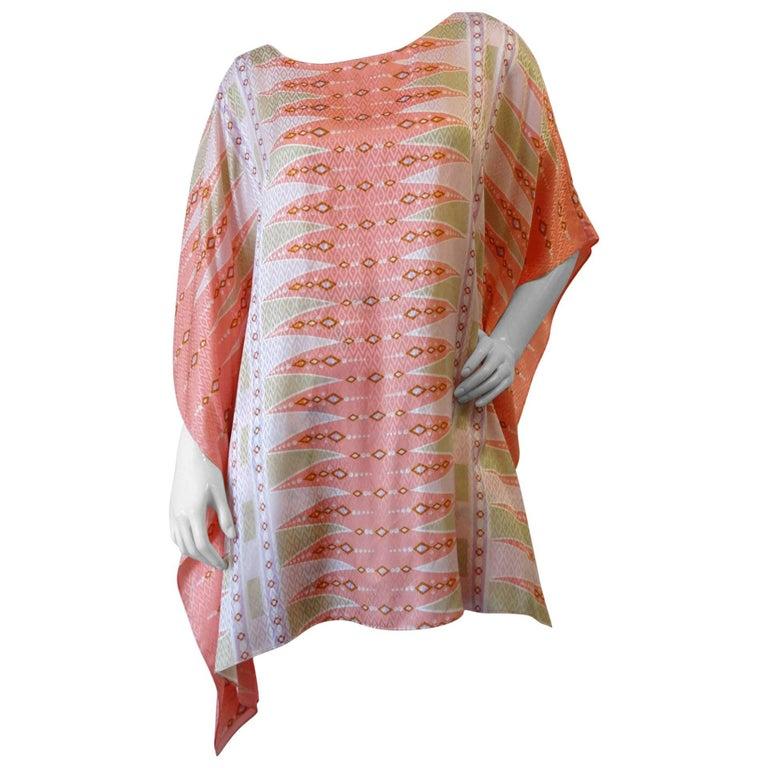 Bob Mackie Wearable Art Poncho Tunic, 1980s   For Sale