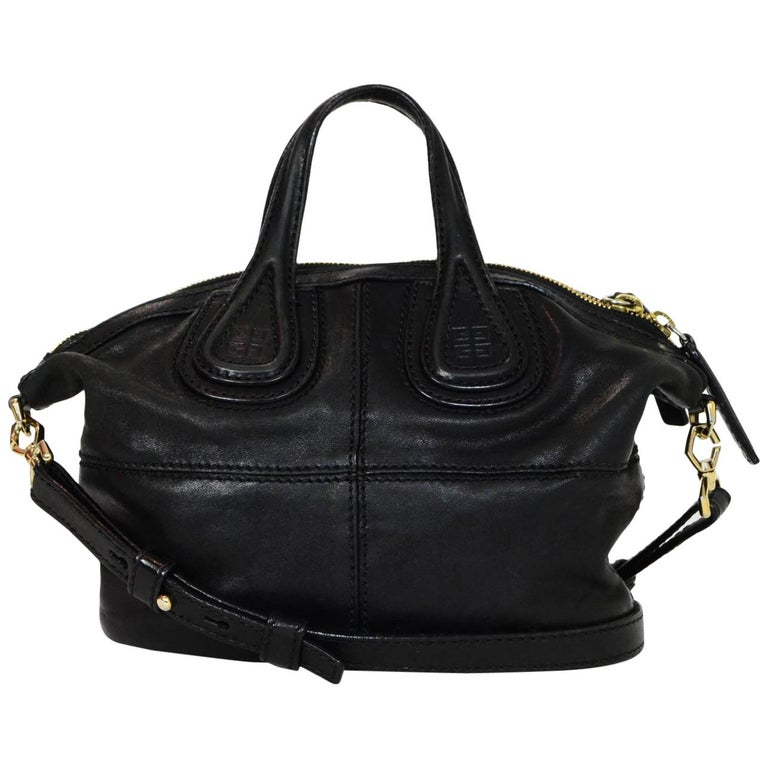Givenchy Black Lambskin Micro Nightingale Satchel Crossbody Bag with Dust  Bag For Sale at 1stdibs 5b6b095fff052