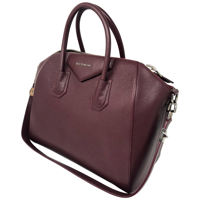 62755bb8d7f Givenchy Burgundy Antigona purse at 1stdibs