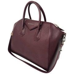 Givenchy Burgundy Antigona purse