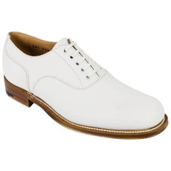 Church's Women's Bella White Leather Derby Shoes