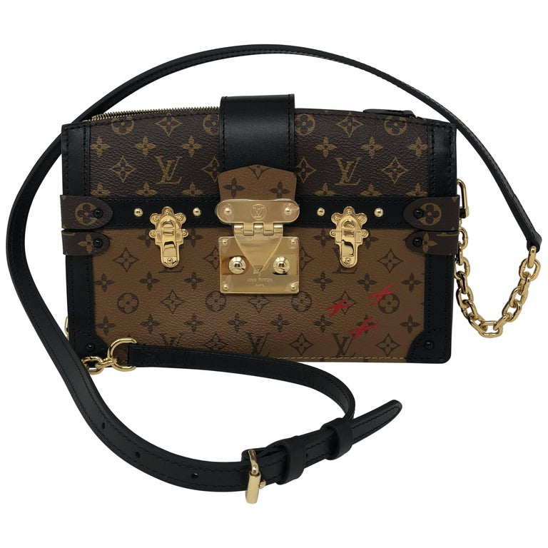 27247fb0258b Louis Vuitton Trunk Clutch Reverse Bag at 1stdibs