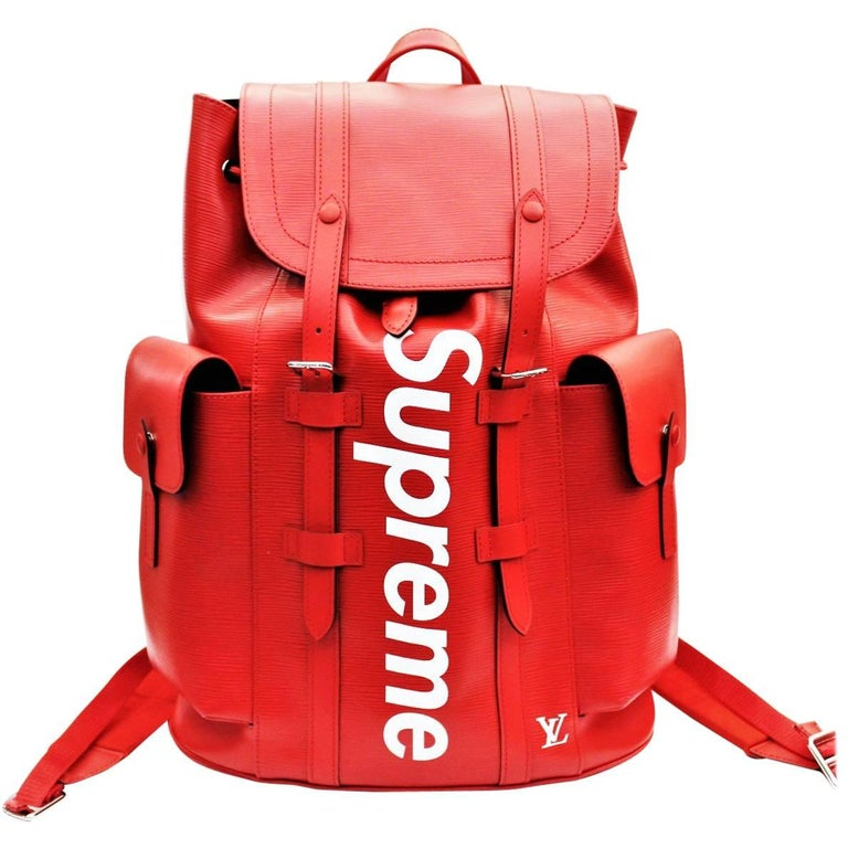 72919f81781e Louis Vuitton x Supreme Christopher Backpack at 1stdibs