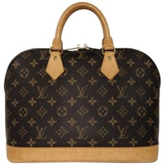 Louis Vuitton Monogram Alma PM Top Handle Handbag