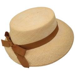 C.1930 Ladies Knox Straw 'Panaire' Panama Hat