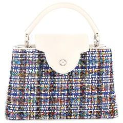 Louis Vuitton Capucines Handbag Limited Edition Broderies PM