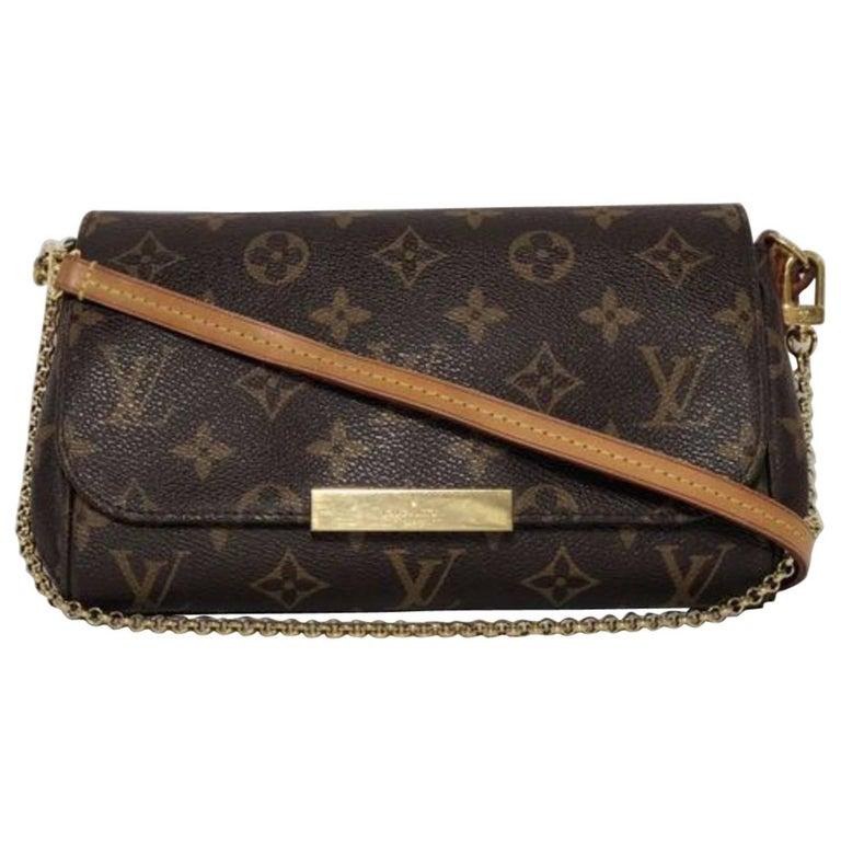 Louis Vuitton Monogram Favorite PM Crossbody Handbag