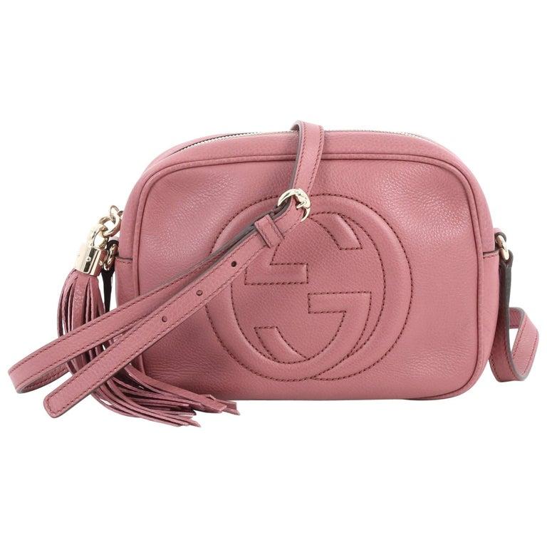 80893ea135fd1b Gucci Soho Disco Crossbody Bag Leather Small at 1stdibs
