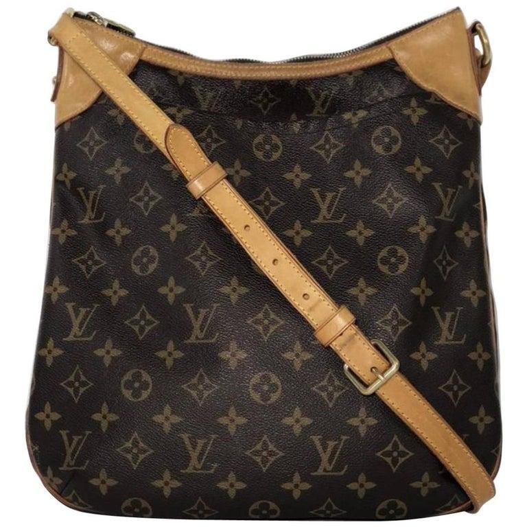 Louis Vuitton Monogram Odeon MM Crossbody Bag