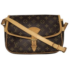 Louis Vuitton Monogram Sologne Crossbody Handbag