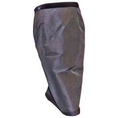 Lanvin black evening skirt