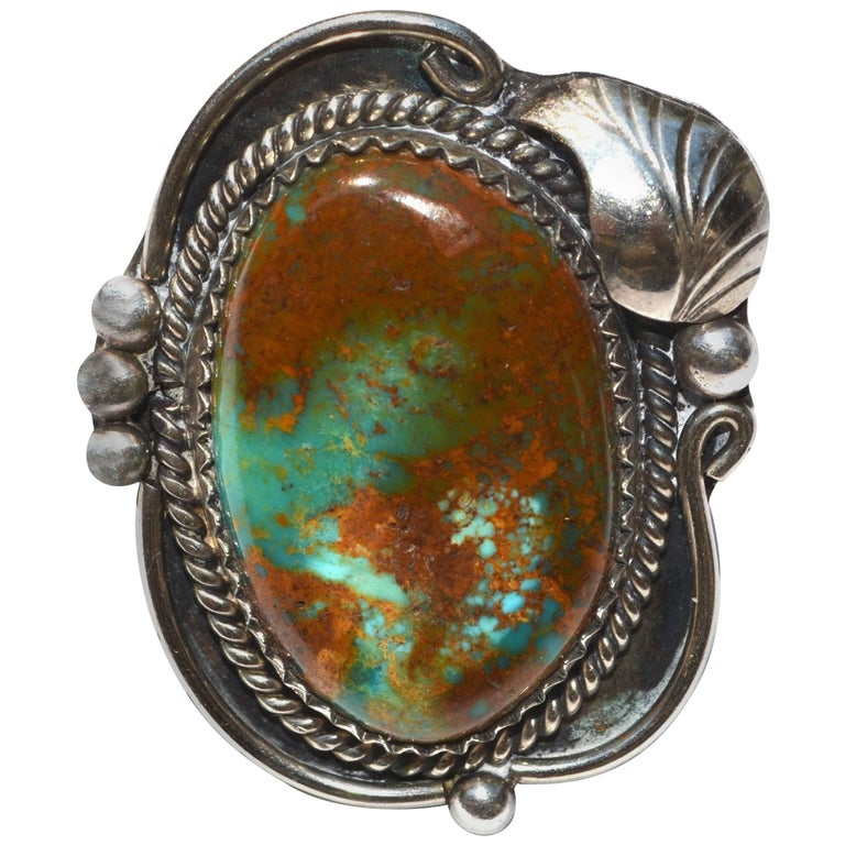 Navajo Turquoise Ring  For Sale