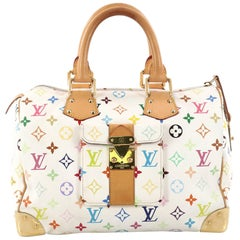 Louis Vuitton Speedy Handbag Monogram Multicolor 30