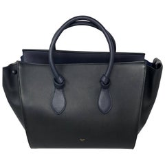 Celine Two-tone Tie Tote Bag