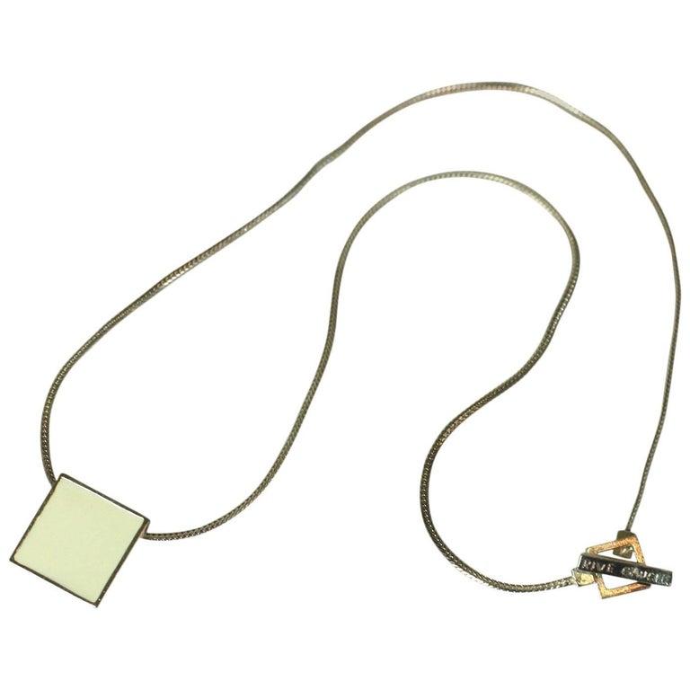 36301dd4ae7 Hedi Slimane for Yves Saint Laurent Men's Necklace For Sale at 1stdibs
