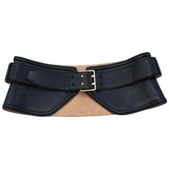 New Tom Ford Genuine Leather Peplum Black Belt 28, 30, 32, 34.