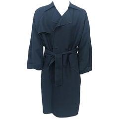 2000s Lanvin Slate Grey Coat