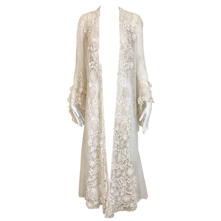 Edwardian Battenberg Lace Coat