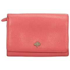 Mulberry	Pink	Rose Petal Continental Wallet