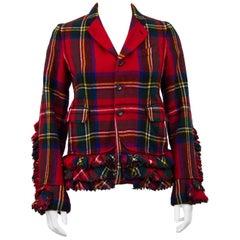 Commes Des Garcons Tartan Wool Jacket, Autumn / Winter 2000