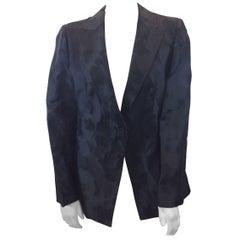 Giorgio Armani Black Detailed Jacket