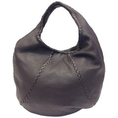 Bottega Veneta Brown Leather Hobo Cervo Shoulderbag