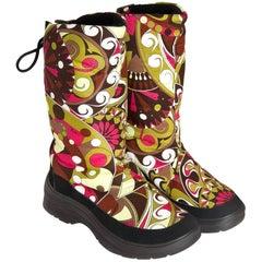 New Size 38 Emilio Pucci Ski Snow Rain Boots
